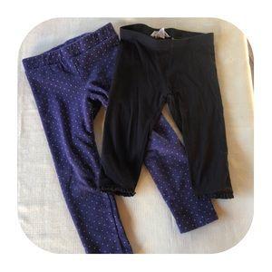 H&M leggings & Capris Girls 2T